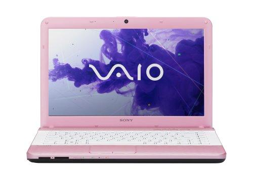 Sony VAIO VPCEG33FX/P 14-Inch Laptop (Pink)