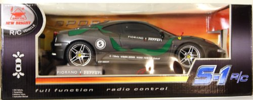New Bright Full Function Radio Control Ferrari S-1 Race Car