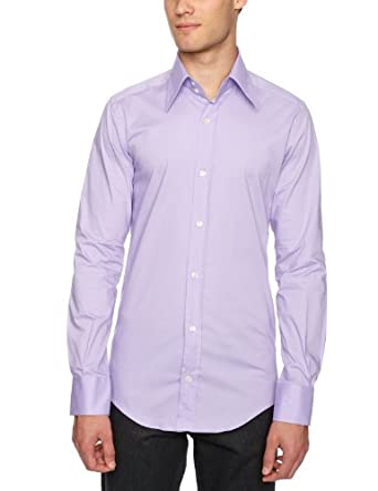 D&G  Slim Fit Shirt Lilac 17 R