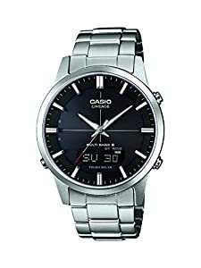 Reloj Casio Wave Ceptor Lcw-m170d-1aer Hombre Negro