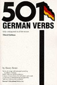 "Cover of ""501 German Verbs"""
