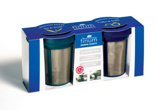 Finum Goldton Filters, Blue And Green