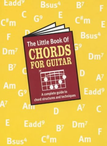 LITTLE BOOK OF CHORDS (FOR GUITAR)   ING