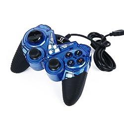 Live Tech LT Game Pad (Dual Vibration Gamestick) Blue