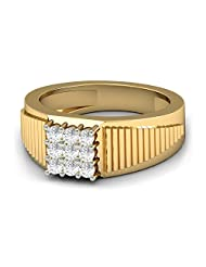 WearYourShine By PC Jeweller The Stian 18 K Gold And Diamond Ring