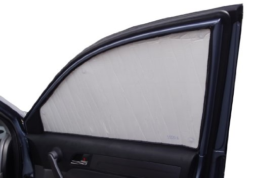 SIDE WINDOW Front Seat Set/2 Sunshades for Toyota Prius V WAGON 2012 2013 2014 2015 2016 2017 Heatshield Sunshade #1215S-C (Sun Shade Prius compare prices)