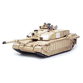 British MBT Challenger 2 Iraq Military Model Kit
