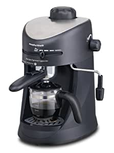 Morphy Richards Rapide Coffee Maker 47490 : Buy Morphy Richards New Europa 800-Watt Espresso and Cappuccino 4-Cup Coffee Maker (Black ...