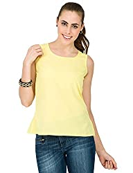 Alibi Women's Woven Top (ALWT000348B0XS_Yellow_XS)