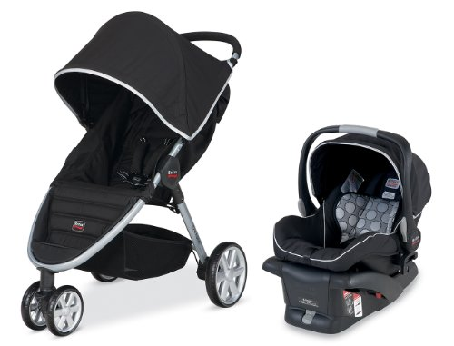 Learn More About Britax 2014 B-Agile and B-Safe Travel System, Black