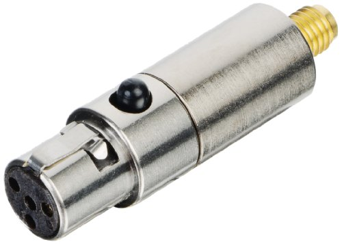 Countryman B2Dconsl Switchcraft Ta4F B2D Detachable Connector For Shure Transmitters (Silver)