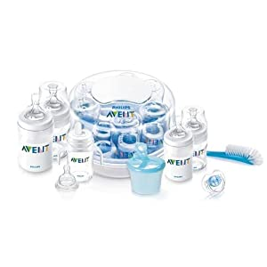 Philips AVENT BPA Free Classic Essentials Gift Set