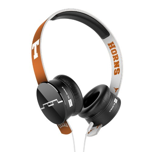 SOL REPUBLIC 1211-UTA Collegiate Series Tracks On-Ear Headphones with Three Button Remote and Microphone - UT Austin