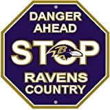 NFL Baltimore Ravens Stop Sign