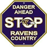 NFL Baltimore Ravens Stop Sign