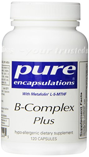 Pure Encapsulations - B-Complex Plus 120 Vegicaps