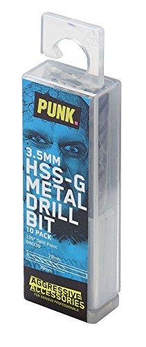 PUNK, PUNK00118, 3,5 millimetri HSS-G trapano (10 articoli)