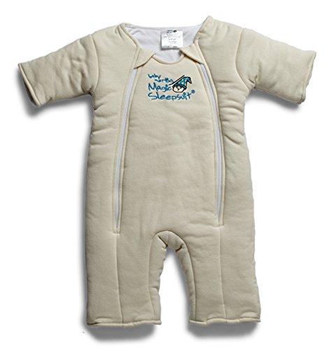 Baby Merlin's Magic Sleepsuit Cotton - Cream - 6-9 months