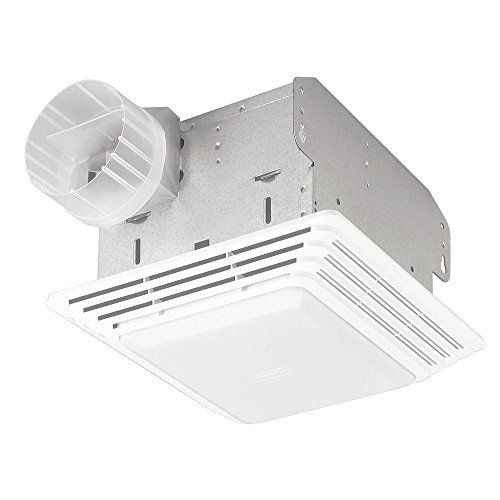 Broan 678 Ventilation Fan and Light Combination, 50 CFM and 2.5-Sones (Plug In Bathroom Fan compare prices)