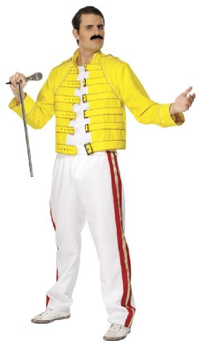 Smiffys Freddie Mercury Wembley 1986 Costume (Medium)