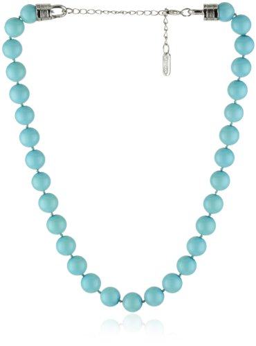 RAIN Turquoise-Color Single Row Necklace