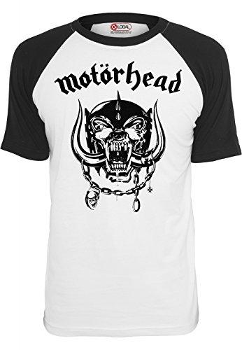 Urban Classics T-Shirt Motörhead Everything Louder, Farbe:wht/blk;Größe:M