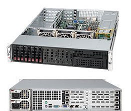 Supermicro SuperChassis SC213LTQ-R720UB Rackmount Enclosure - Rack-mountable - Black - 2U - 9 x Bay - 3 x Fan(s) Installed - 2 x 720 W - ATX, EATX Motherboard Supported