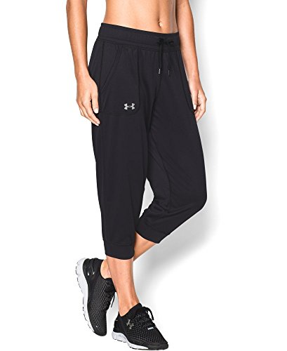 Under Armour Women's Tech Capri, Black (001), X-Large