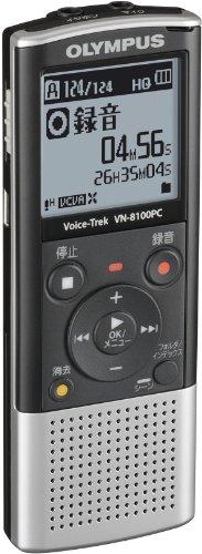 【Amazonの商品情報へ】OLYMPUS ICレコーダー VoiceTrek VN-8100PC