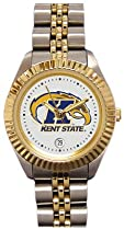 Kent State Unviersity Golden Flashes Ladies Executive Stainless Steel Sports Watch