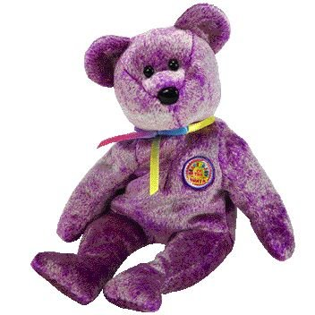 TY Beanie Baby - DREAMER the Bear (BBOM March 2003)