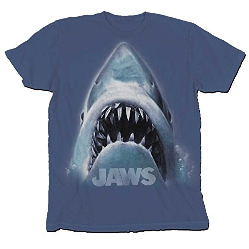 Plus Size Shark Head Navy T-Shirt Tee
