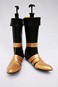 Final Fantasy 7 FFVII Vincent Valentine Cosplay Shoes Boots custom-made