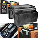 6 Pocket Arm Rest Organizer w/ Table-top the Arm Rest Organizer From Trademark Is the Perfect Addition to Any Family Room Couch or Chair Picture