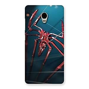 Cute Climbing Spider Multicolor Back Case Cover for Lenovo Vibe P1