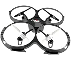 UDI U818A 2.4GHz 4 CH 6 Axis Gyro RC Quadcopter with Camera RTF Mode 2
