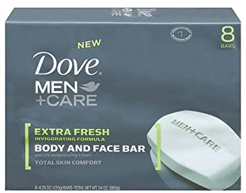 Amazon - Dove Men + Care Body and Face Bar, 8 Count - $6.60