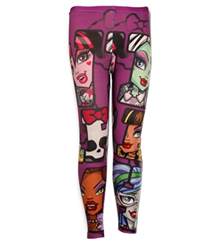 Monster High Girls Legging Tights Age 6,7,8,9,10,12 Years