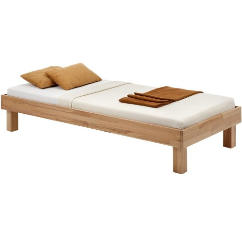 cadres de lit lit futon miriam 90 x 200 en h tre massif vernis naturel mat. Black Bedroom Furniture Sets. Home Design Ideas