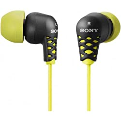 Sony MDR-EX37B/YLW Earbud Style Headphones