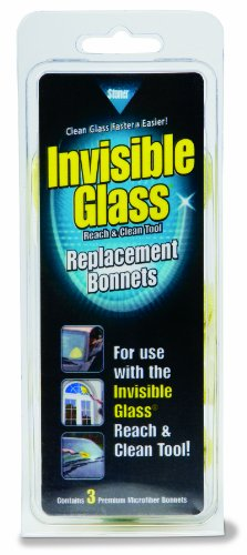 Stoner 95183 Invisible Glass Replacement Bonnet for Reach and Clean Tool - Pack of 3
