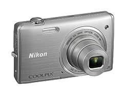 Nikon デジタルカメラ COOLPIX S5200 光学6倍ズーム Wi-Fi対応 クリスタルシルバー S5200SL