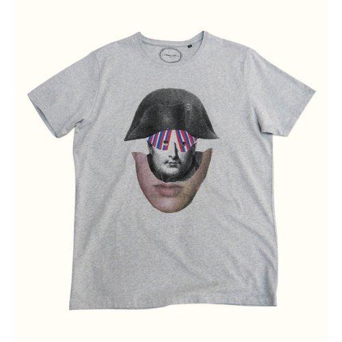 Amazon出荷/COMMUNE DE PARIS(コミューン・ド・パリ)/カットソー・Tシャツ(Ts Bicorne[marl gray])/サイズ:XS-S/Ts Bicorne (XS)