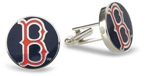 MLB Boston Red Sox Classic Cufflinks by Cufflinks