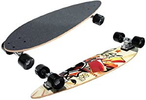 Atom Mini Pin-Tail Longboard (29-Inch) by Atom Longboards