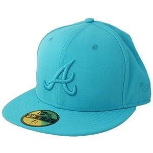 New Era Cap - BASIC Atlanta Braves vice blue 7 3/8