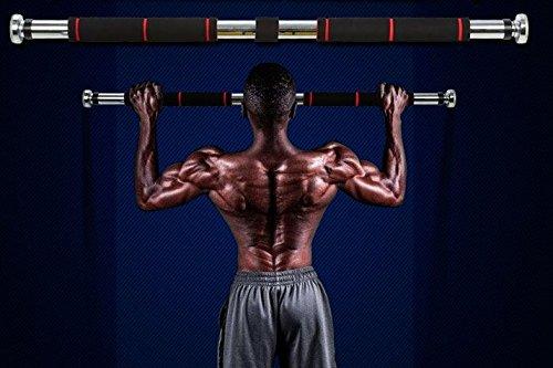 筋トレ 運動 不足 を 簡単 解消 NEO  ドア ジム ストレート ドア を利用して 自宅 で 懸垂  ぶら下がり  トレーニング グローブ 付きセット 62cm-100cm タイプ オリジナルグローブ付き