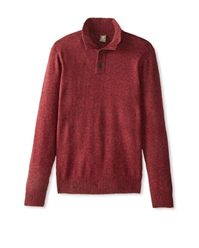 Timberland Men's 1/4 Button Sweater