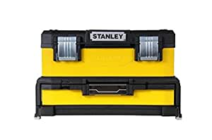 """Stanley 20"""" Werkzeugbox Metall-Kunststoff mit integrierter Schublade - 1-95-829 - ohne Werkzeug"""