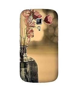 Flower In Jar Samsung Galaxy S Duos S7562 Case